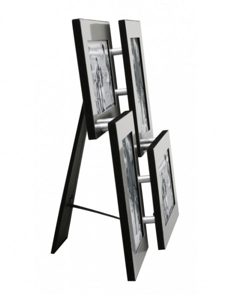 Gallery frame aluminium 4 pictures size 4x6
