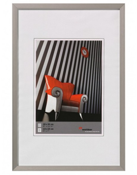 Walther Chair Alurahmen 40x50 cm stahl