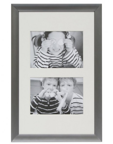 Aluminum frame Kaloor for 2 photos 13x18 cm