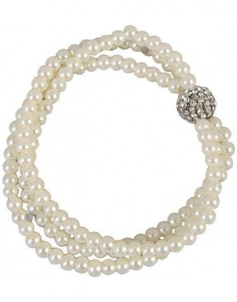 Bracelet B0100464 white art jewelry