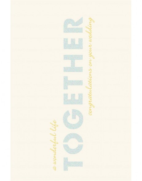Artebene Karte Stanze/Together/Glitter