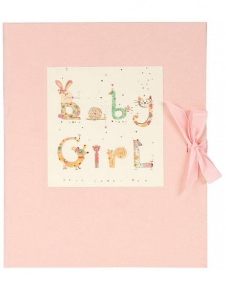 BABY GIRL baby diary pink