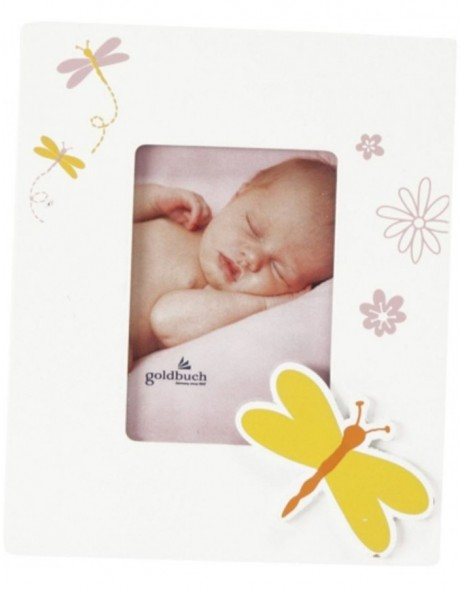 BUTTERFLY baby photo frame 5x8 cm