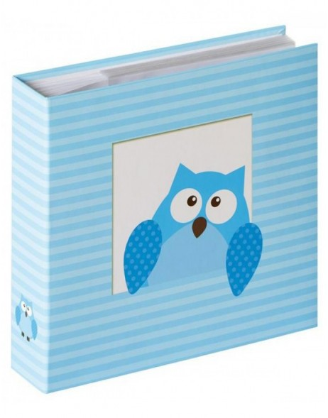 Baby Owlet slip-in album Boy 200 photos 10x15 cm