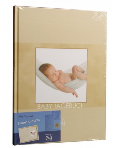 baby diary Sweet Dreams - beige