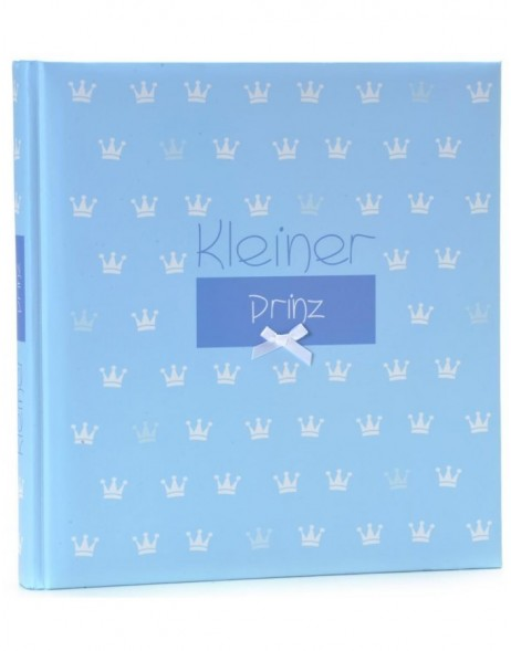 Photo album Kleiner Prinz - little prince in blue