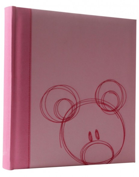Sammy - baby photo album in pink