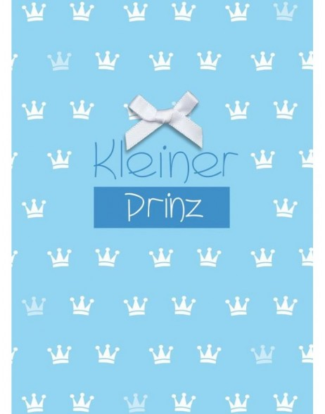 Card for a baby boy Kleiner Prinz