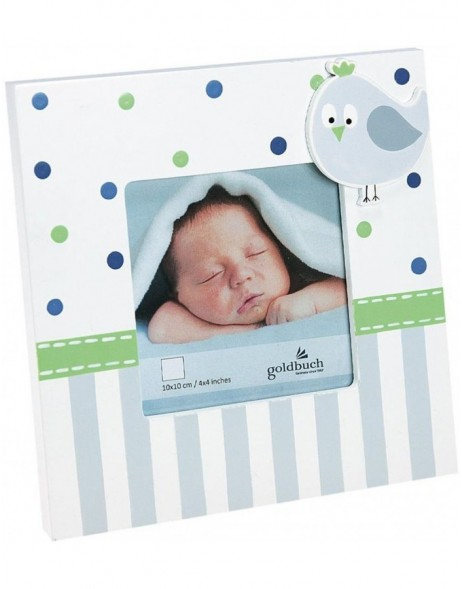 Baby frame Baby World Wal blue 10x10 cm