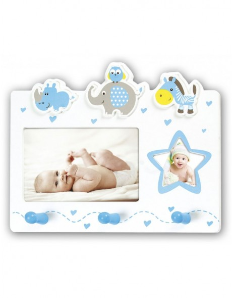 baby picture frame CEDRIC for 2 photos