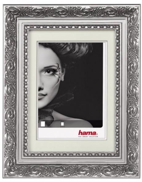 barockrahmen donatello 50x70 cm silber hama fotoalben. Black Bedroom Furniture Sets. Home Design Ideas