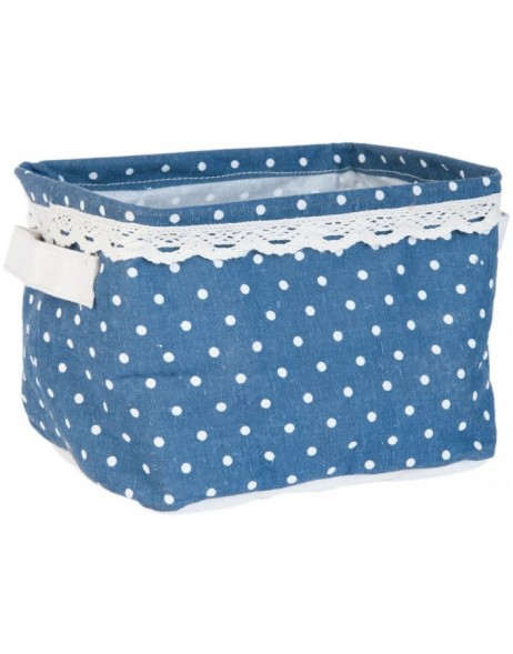cotton-basket blue - FAP0129 Clayre Eef