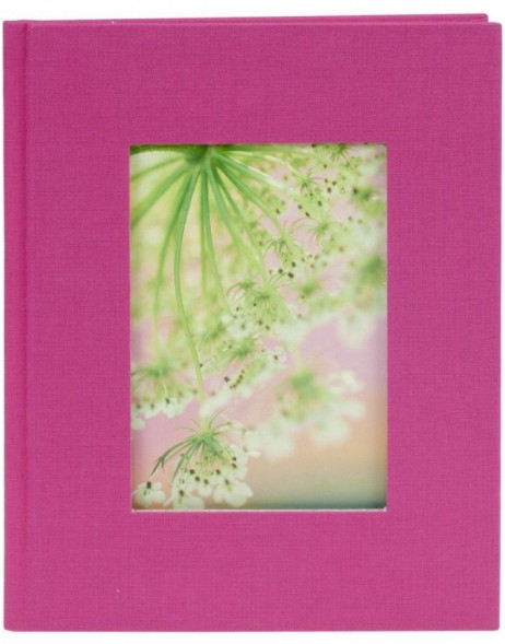 mini photo album BELLA VISTA pink for 12 photos