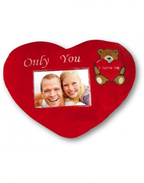 Picture Frame Pillow Cuscino Cuore