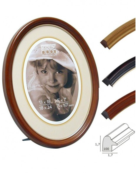 Picture frames Oval S100 Deknudt 3 colors