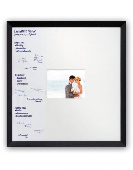 photo frame SIGNATURE BLACK 1 photo 15x18 cm