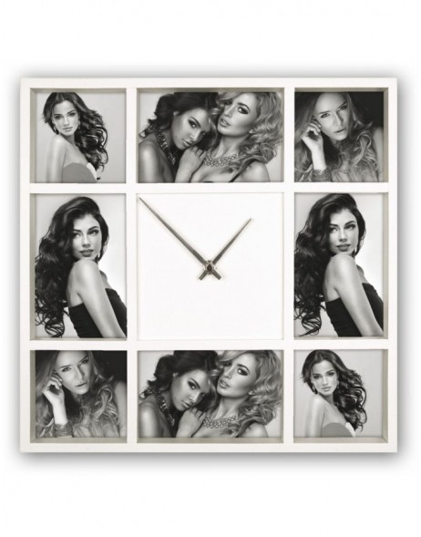 Picture Frame Clock Savona 8 Photos