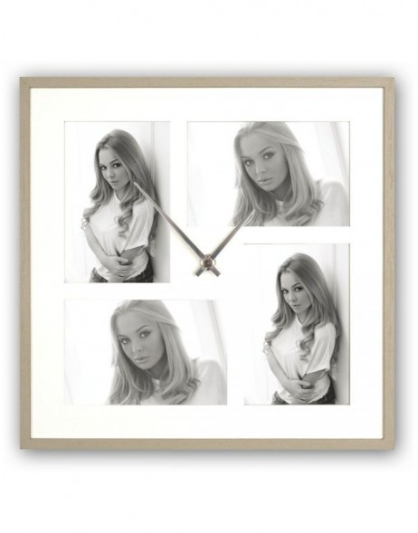 Picture frame Watch Varese 4 pictures 10x15 cm