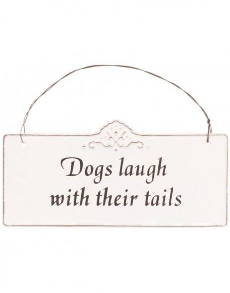 DOGS tin-plate natural - 6Y1368 Clayre Eef