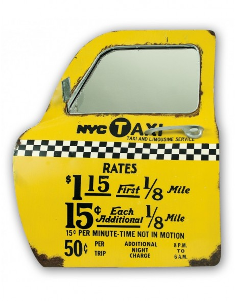 wall decoration NY TAXI car door