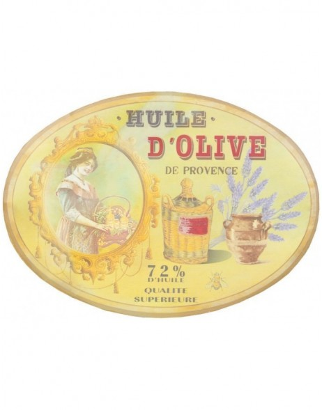 OLIVE tin-plate colourful - 6Y1435 Clayre Eef