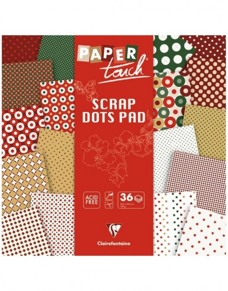 DOTS Xmas pads of paper 36 sheets