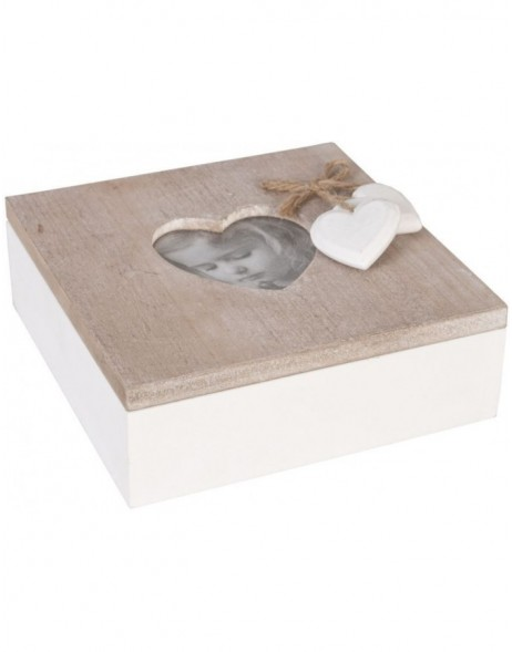 box made of wood - 6H0699 Clayre Eef