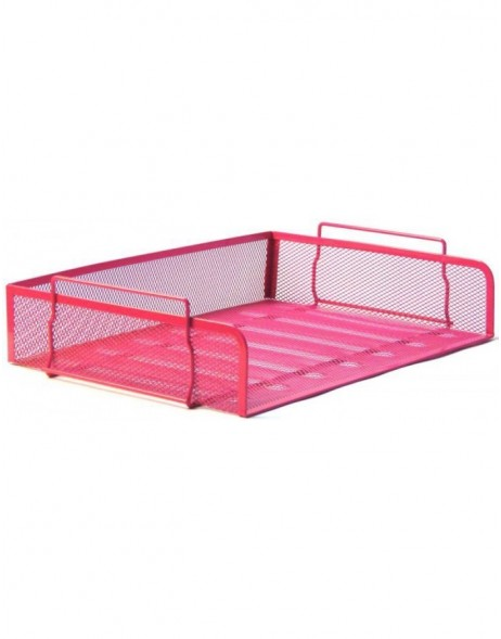 letter tray by officional pink