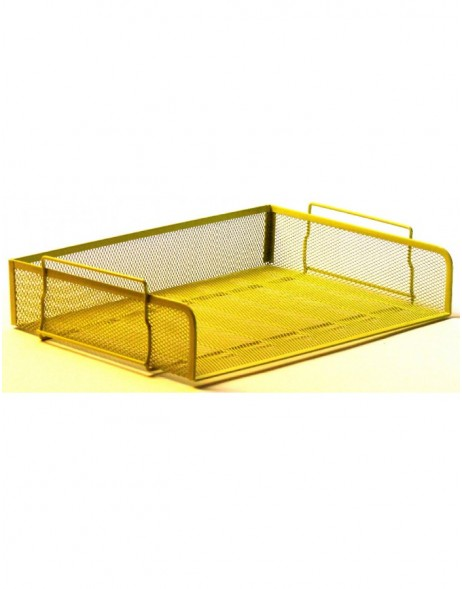 letter tray by officional spring green