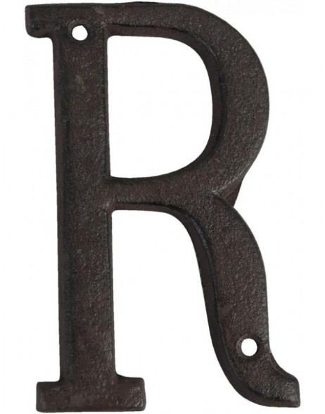 Letters made of cast iron 13 cm A-Z and &