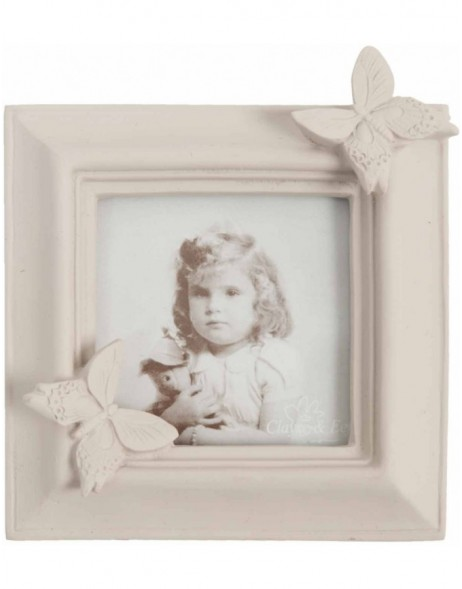 Clayre Eef photo frame 2113 5,5x5,5 cm light pink