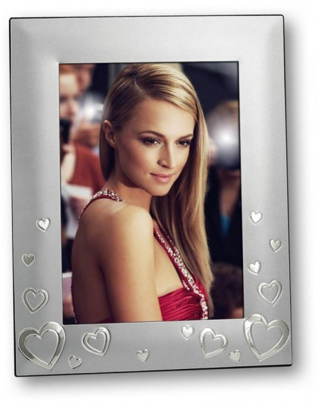 Conny metal portrait frame silver 10x15 cm, 13x18 cm and 15x20 cm
