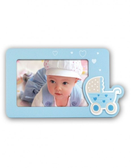 DARIO baby picture frame blue 10x15 cm
