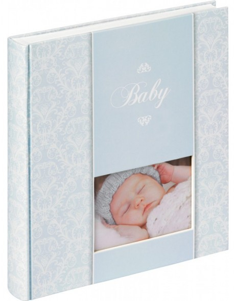 baby photo album DAYDREAMER boys blue
