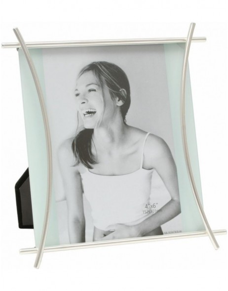 Deknudt photo frame S58ME1 mat silver 10x15 cm, 13x18 cm and 15x20 cm