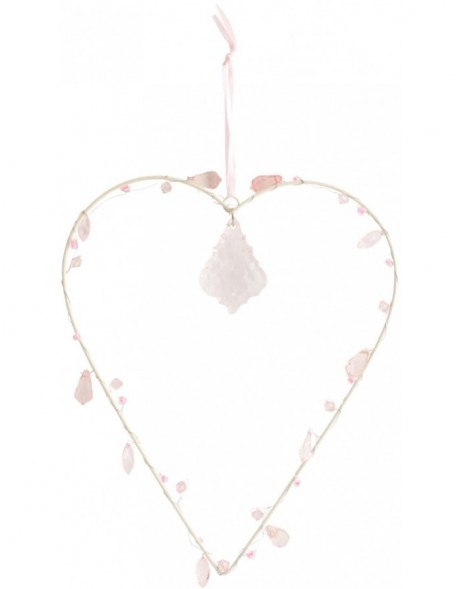 heart-shaped pendant 16x19 cm
