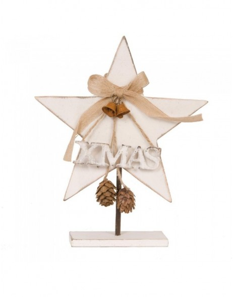 deco star white - 6H0917 Clayre Eef