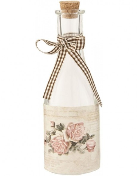 decorative bottle 6GL1180 - Ø 6x18 cm