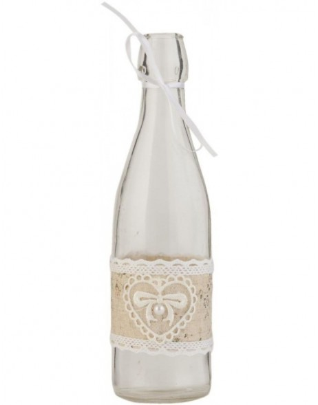 decorative bottle 6GL1247M - Ø 7x26 cm