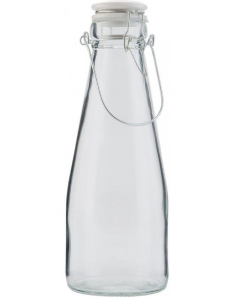 decorative bottle 6GL1437L - Ø 10x26 cm
