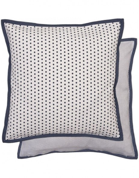 pillowcase 40x40 cm Dotted blue