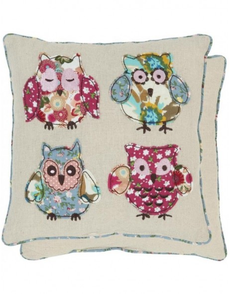 pillow - KG004.005 Clayre Eef - Owls III