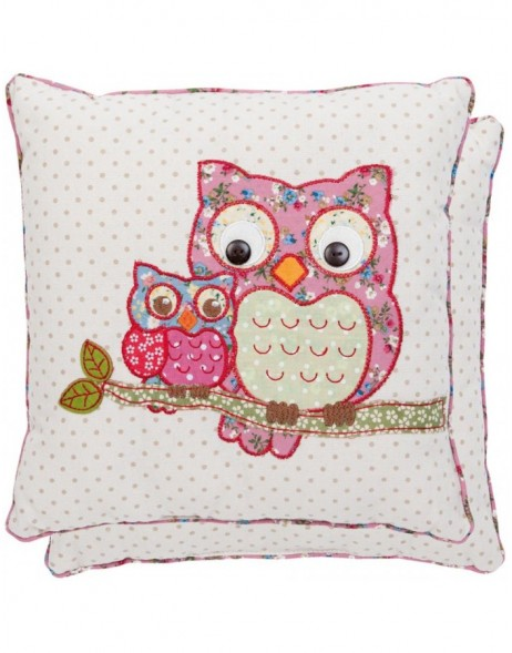 pillow - KG004.009 Clayre Eef - Mama Owl