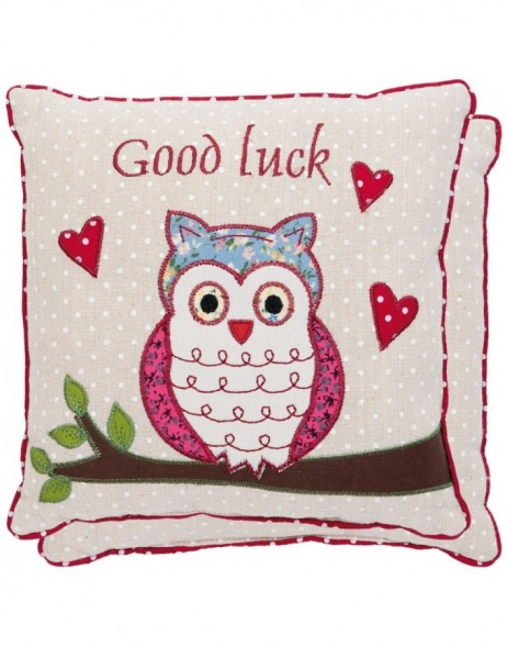 pillow - KG004.007 Clayre Eef - Good Luck