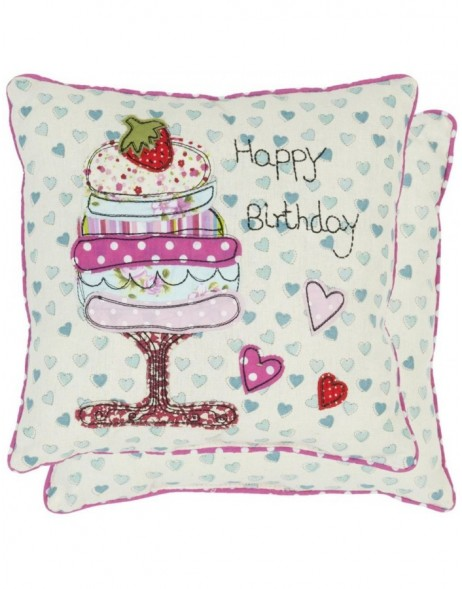 pillow - KG001.002 Clayre Eef - Happy Birthday