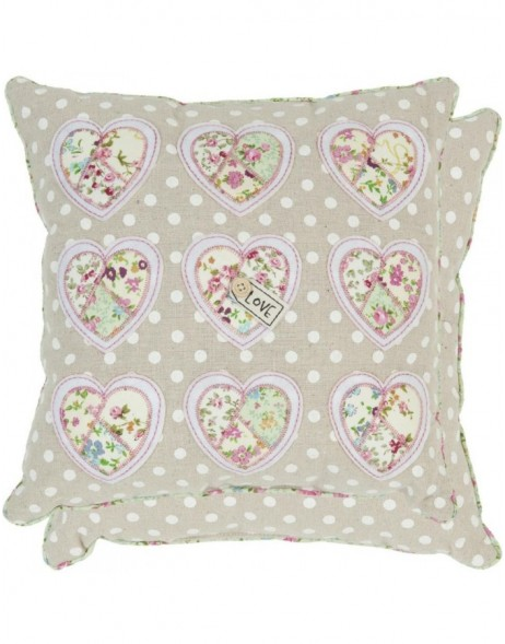 pillow - KG001.007 Clayre Eef - Hearts