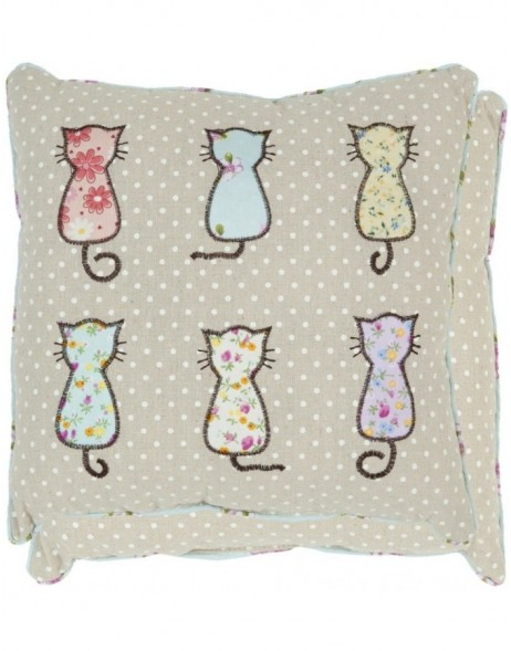 pillow - KG003.001 Clayre Eef - Cats