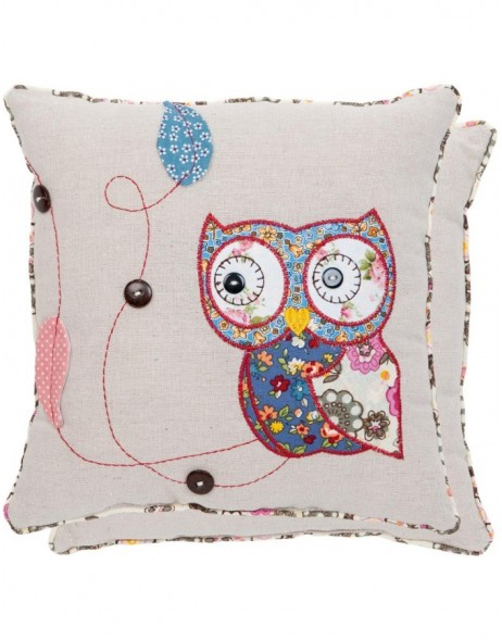 pillow - KG004.008 Clayre Eef - Little Owl