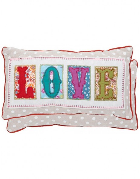 pillow - KG001.011 Clayre Eef - Love II