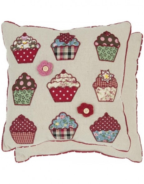 pillow - KG001.001 Clayre Eef - Muffins